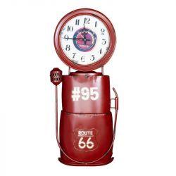 Dekorativní nástěnné hodiny - červené