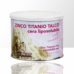 Depilační vosk - 400 ml Zinc Titanium Talc
