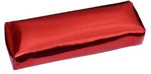 Podložka pod ruku, lesklá červená