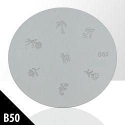 Destička s ornamenty B50