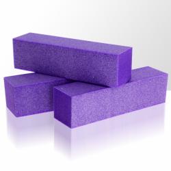 Leštící blok na nehty - fialový