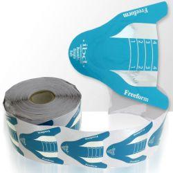 Šablony na nehty 500 ks - modré