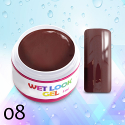 Uv gel na nehty Wet Look č. 08