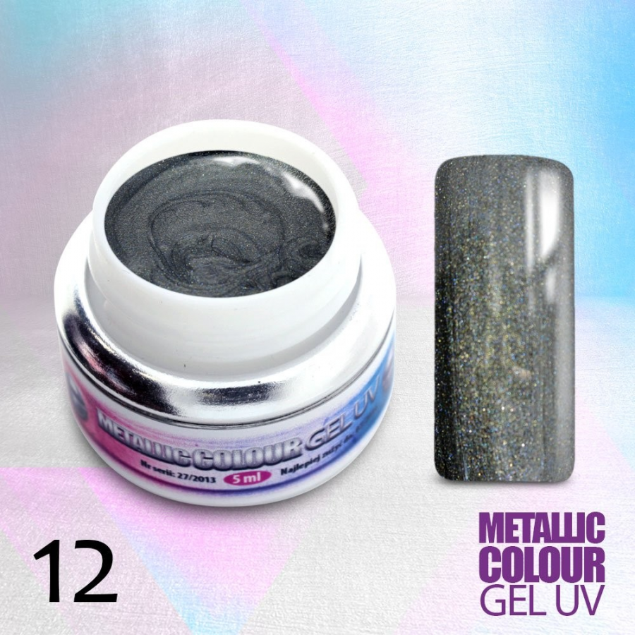 Uv gel metalický