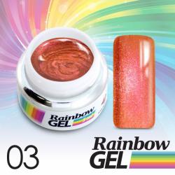 Uv gel na nehty Rainbow č.03