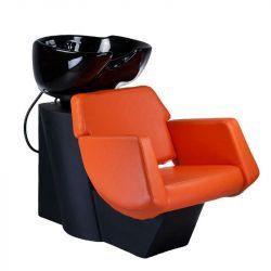 Kadeřnický mycí box NICO BD-7821 oranžový