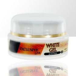 Uv gel na nehty WHITE 15ml