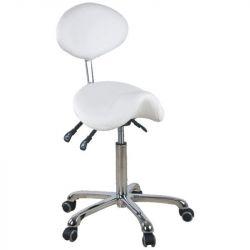 Kosmetická židle Giovanni 1025 bílá (AS)