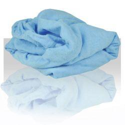 Prostěradlo froté 60x190 cm - modré
