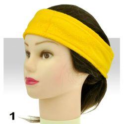 Froté čelenka - žlutá (A)
