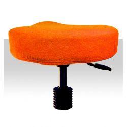 Froté potah kosmetickou židli - oranžový (A)