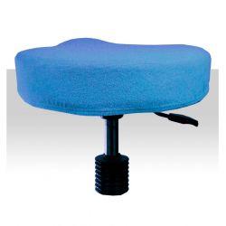 Froté potah kosmetickou židli - světle modrý (A)