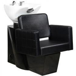 Kadeřnický mycí box GABBIANO ANKARA černý (AS)