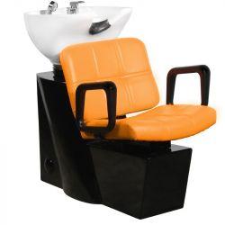 Kadeřnický mycí box GABBIANO PRAGA oranžový (AS)