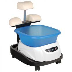 Vanička na pedikúru s masáží na vozíku (AS)