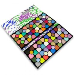 Miss Doozy - paleta očních stínů - pouzdro 100 barev YF-9893 (A)
