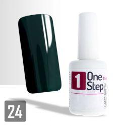 One Step gel UV/LED 3v1 temně zelený 15ml (A)