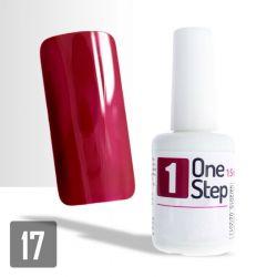 One Step gel UV/LED 3v1 višňový 15ml (A)