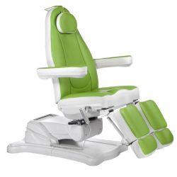 Elektrické kosmetické křeslo MAZARO BR-6672C zelené (BS)