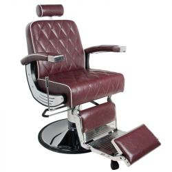 Barbers křeslo GABBIANO IMPERIAL bordó (AS)