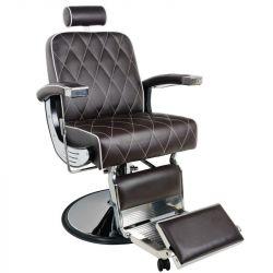 Barbers křeslo GABBIANO IMPERIAL hnědé (AS)