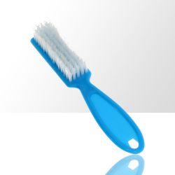 Kartáček na manikúru a prach modrý (A)