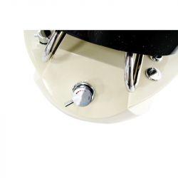 Kosmetické pedikérské křeslo SPA TS1204 černé s masáží