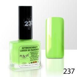 Lak na nehty NTN - 237 akvamarínový - 10ml (A)