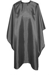 Profesionální dlouhý kadeřnický plášť - černý (AS)
