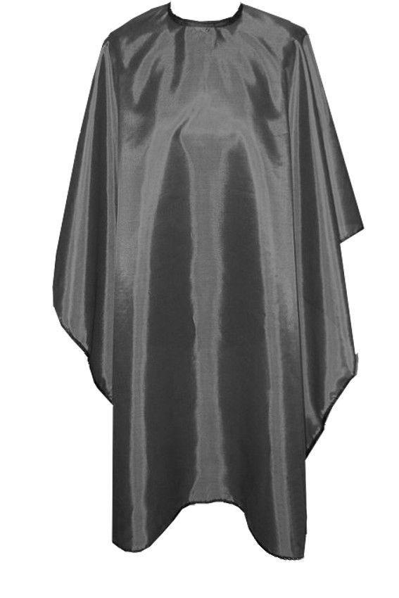 Profesionální dlouhý kadeřnický plášť - šedý