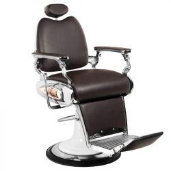 Barbers holičské křeslo MOTO STYLE hnědé (AS)