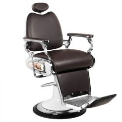 Barbers křeslo MOTO STYLE hnědé (AS)
