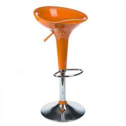 Barová židle BX-1002 oranžová (BS)
