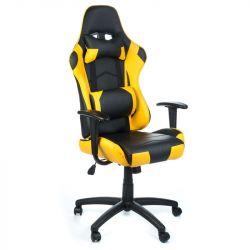 Kancelářská židle RACER CorpoComfort BX-3700 žlutá (BS)