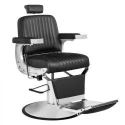 Barbers - holičské křeslo GABBIANO CONTINENTAL černé (AS)