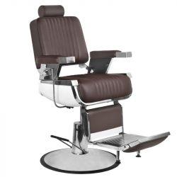Barbers křeslo GABBIANO ROYAL II hnědé (AS)