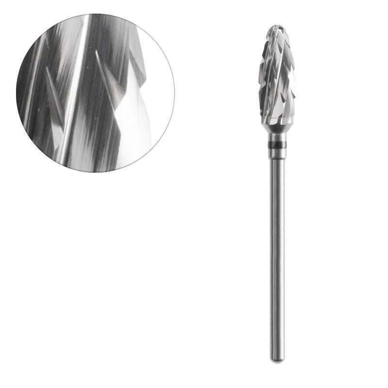 Frézka na pedikúru ocelový ovál 6,0/14,0mm ACURATA
