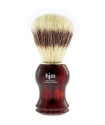 Štětka na holení z přírodních štětin MUEHLE - HJM jantarová (B)
