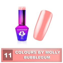 11 Gel lak Colours by Molly 10ml - Bubblegum (A)