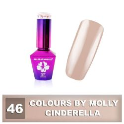 46 Gel lak Colours by Molly 10ml - Cinderella (A)