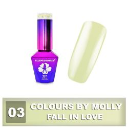 03 Gel lak Colours by Molly 10ml - Fall in Love (A)