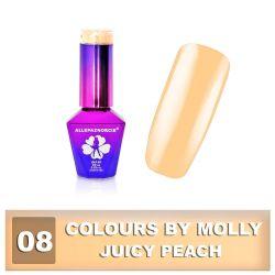 08 Gel lak Colours by Molly 10ml - Juicy Peach (A)