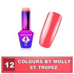 12 Gel lak Colours by Molly 10ml - St.Tropez (A)