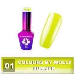 01 Gel lak Colours by Molly 10ml - Summer (A)