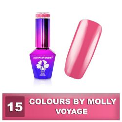 15 Gel lak Colours by Molly 10ml - Voyage (A)
