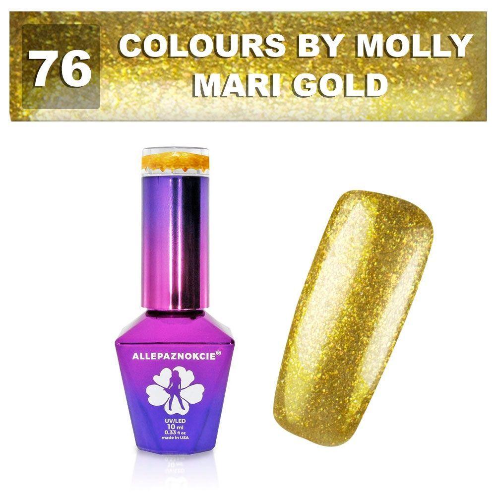 Gel lak Colours by Molly 10ml - Mari Gold