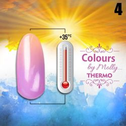 Gel lak Colours by Molly Thermo 04 - 10ml (A)