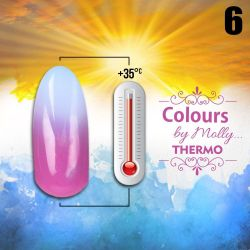 Gel lak Colours by Molly Thermo 06 - 10ml (A)