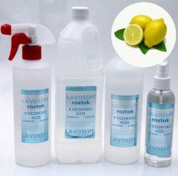 Dezinfekce na ruce 500 ml (náhradní náplň) - citronové aroma (AM)