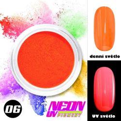 NEON UV pigment - neonový pigment v prášku 06 (A)